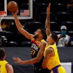 Utah abusa de unos Lakers hundidos sin Davis (114-89): cuarta derrota seguida