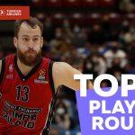 El Top10 de la jornada 5 de Euroliga